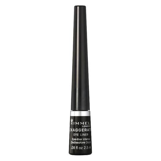 Rimmel Exaggerate Liquid Eye Liner - Black