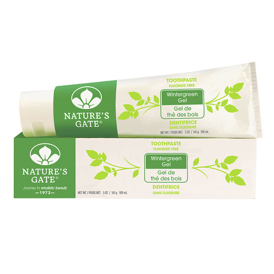 Nature's Gate Toothpaste - Wintergreen Gel - 141g