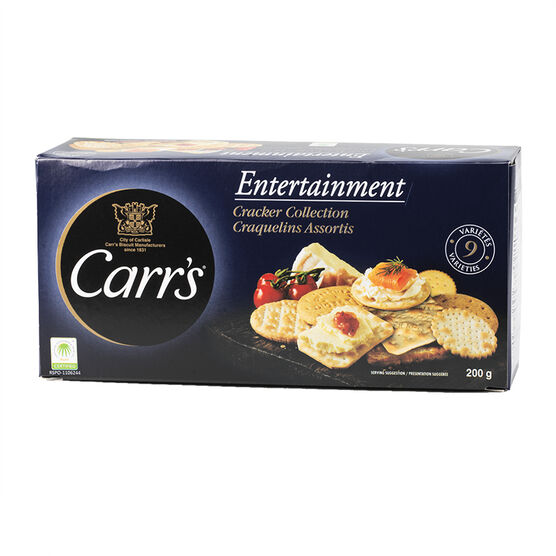 Carr's Entertainment Cracker Collection - 200g