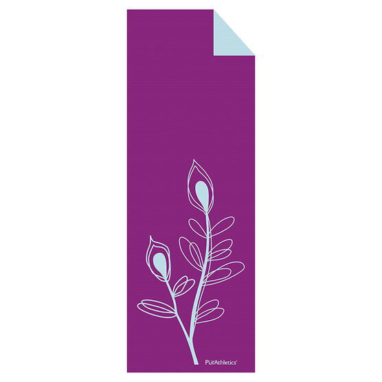 Purathletics Yoga Mat - Purple/Mint