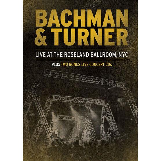 Bachman & Turner: Live at the Roseland Ballroom NYC - DVD