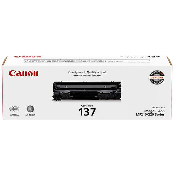 Canon 137 Toner Cartridge - Black - 9435B001