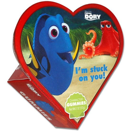Disney Finding Dory Heart Gummies - Assorted - 57g
