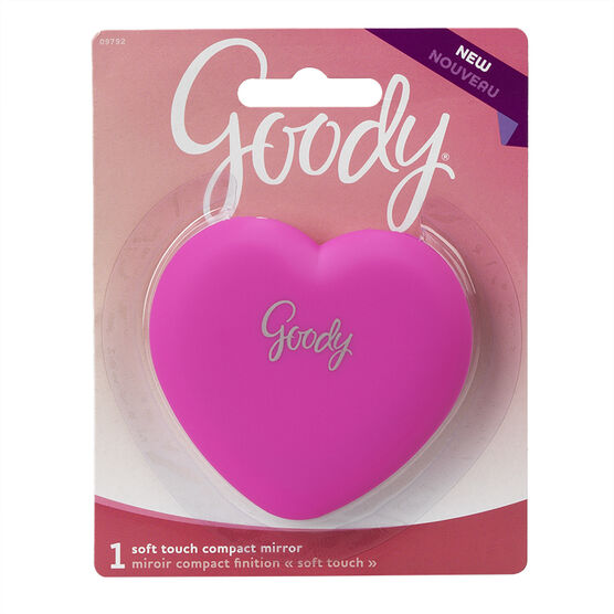 Goody Soft Touch Compact Mirror - Assorted - 09792