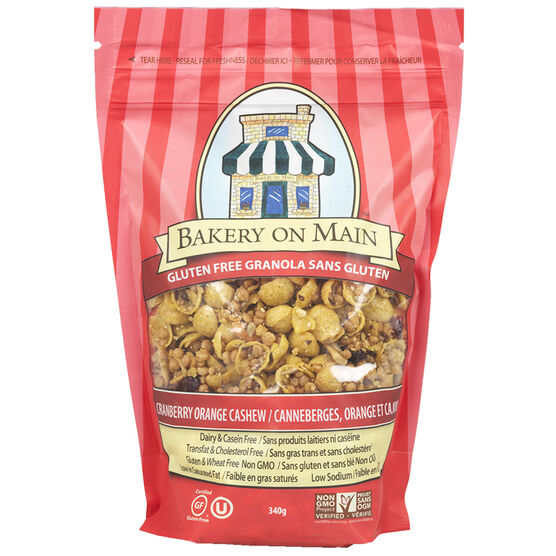 Bakery On Main Granola - Cranberry/Orange - 340g
