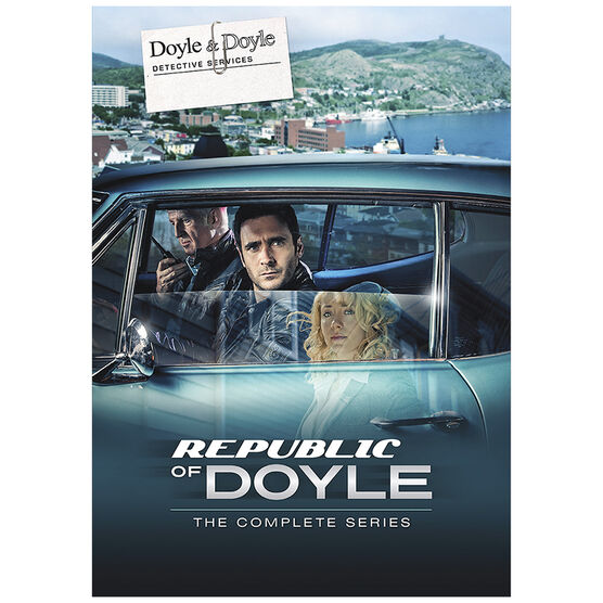 Republic of Doyle: The Complete Series - DVD
