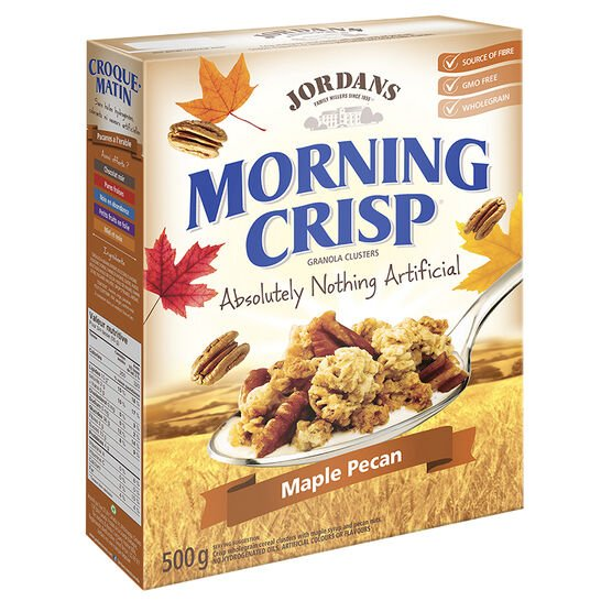 Jordans Morning Crisp Cereal - Maple Pecan - 500g