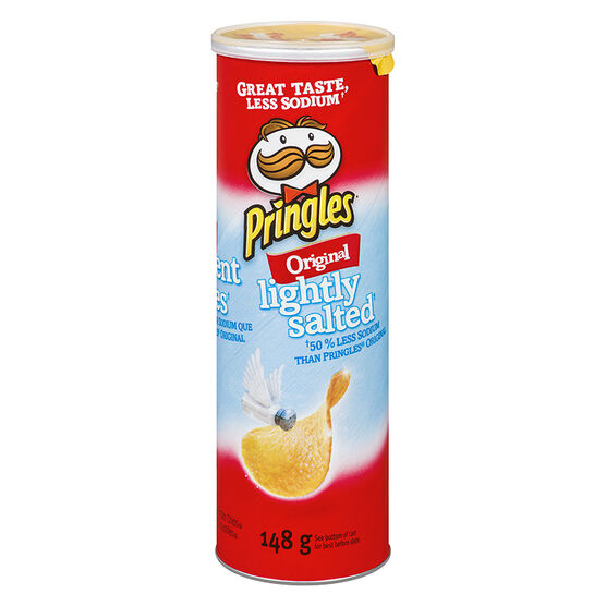 Pringles Potato Chips - Lightly Salted - 148g