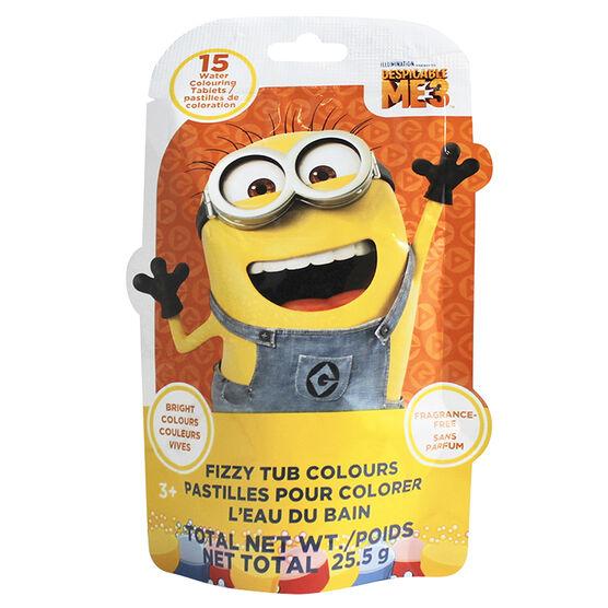 Despicable Me3 Fizzers Tub Colours - 25.5g