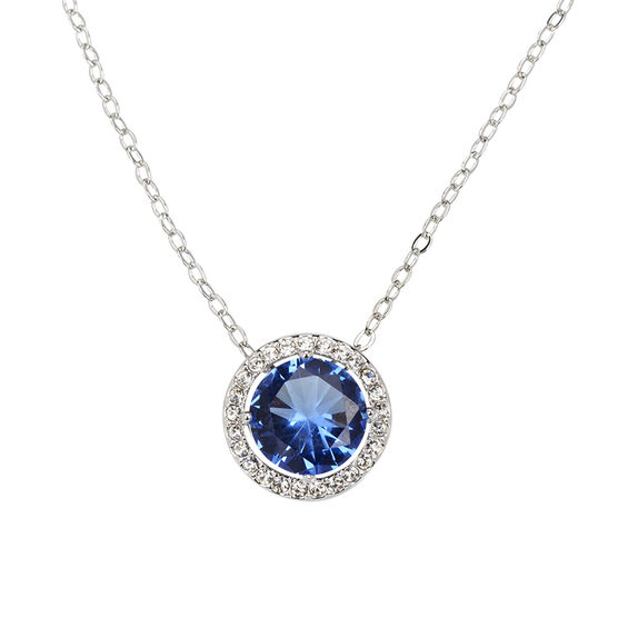 Eliot Danori Framed Pendant Necklace - Blue