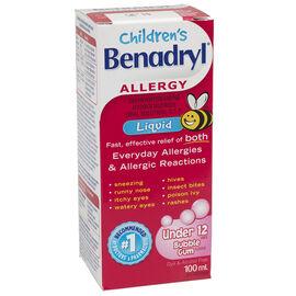 Benadryl Children's Allergy Liquid - 100ml