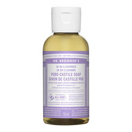 Dr Bronner's 18-In-1 Liquid Soap - Lavender - 59 ml