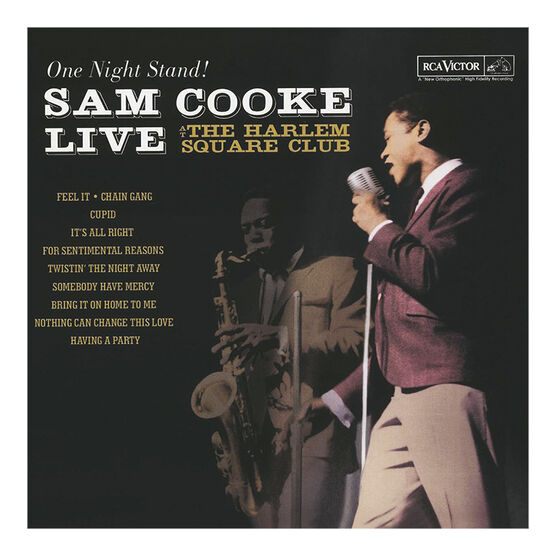 Sam Cooke - One Night Stand: Live at the Harlem Square Club (1963) - Vinyl