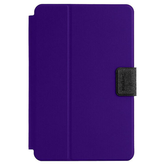 Targus Safe Fit Rotating Universal Tablet Case - 7-8 Inch - Purple - THZ64307CA