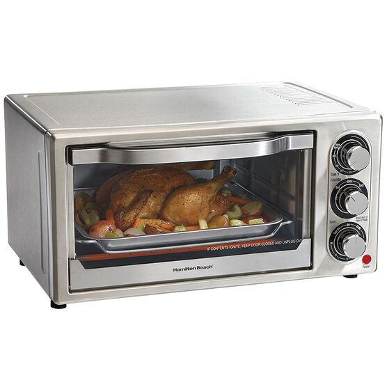 Hamilton Beach 6 Slice Toaster Oven - Stainless - 31511