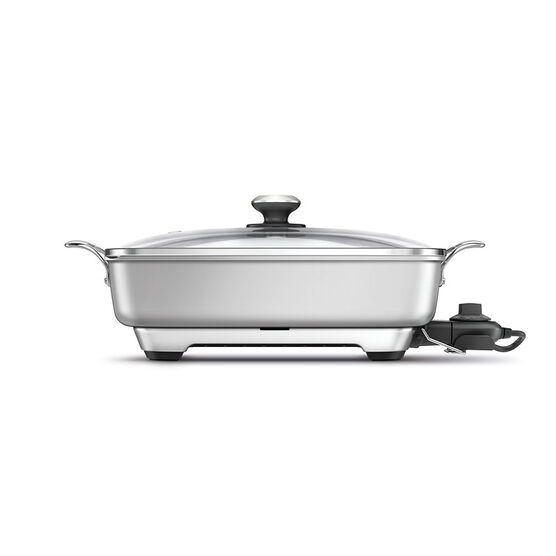 Breville Electric Frying Pan - Silver - BEF460SIL