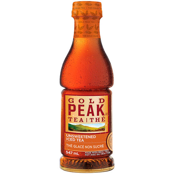 Gold Peak Iced Tea - Unsweetened - 547ml