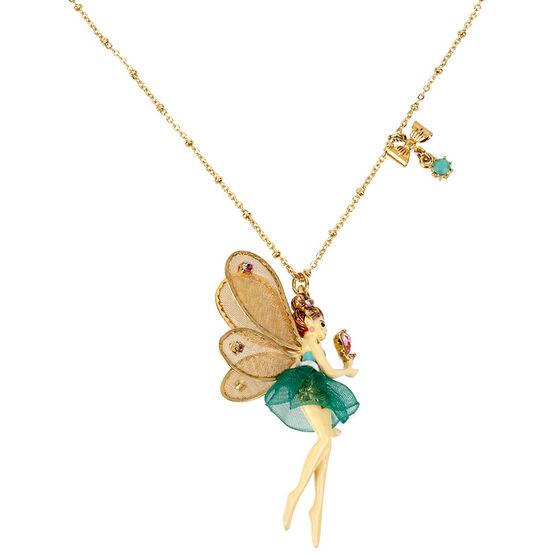 Betsey Johnson Fairy Necklace - Green