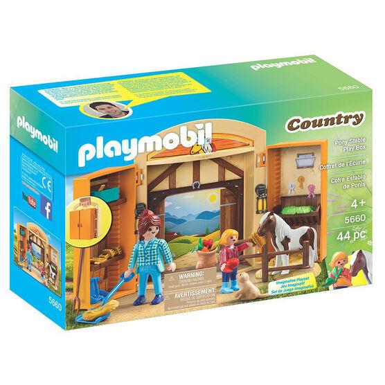 Playmobil Play Box - Horses - 56603