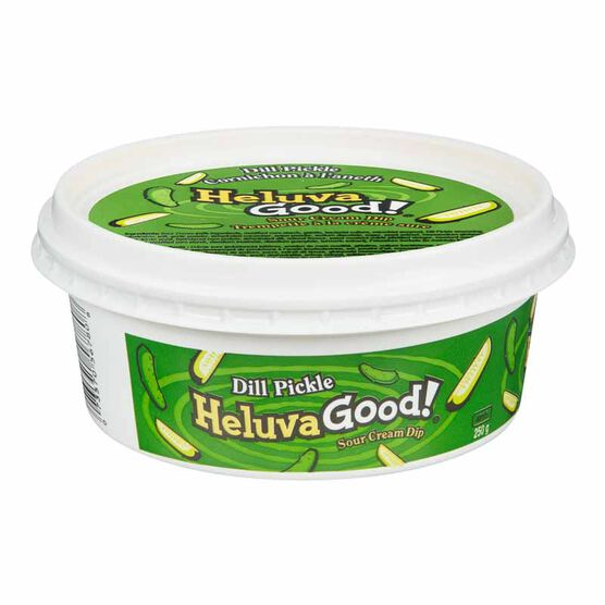 Heluva Good! Sour Cream Dip - Dill Pickle- 250ml