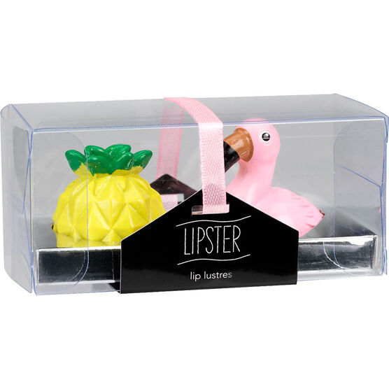 Star&Rose Flamingos Lip Lustres - Assorted - 2 piece