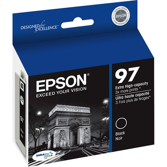 Epson 97 Extra-high Capacity Ink Cartridge - Black - T097120