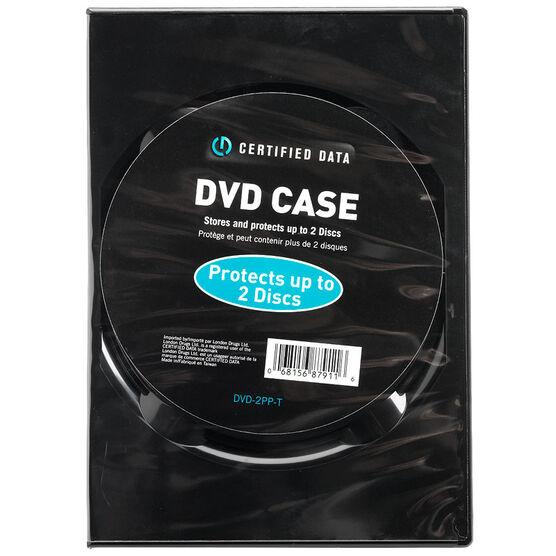 Certified Data Dual DVD Case