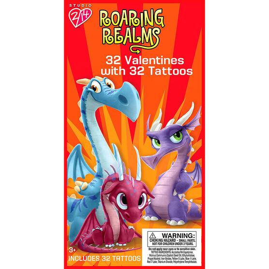 Roaring Realms Tattoo Valentines - 32s - 4161720