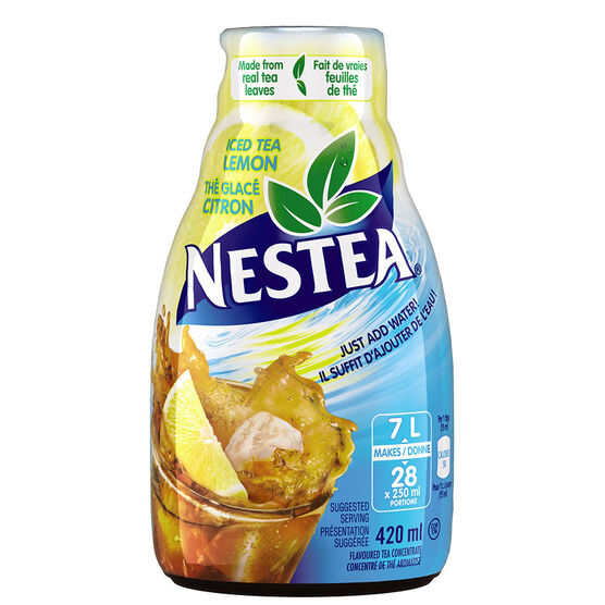Nestle Nestea Concentrate - Iced Tea Lemon - 420ml
