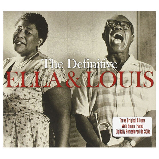 Ella Fitzgerald and Louis Armstrong - The Definitive Ella And Louis - 3 CD