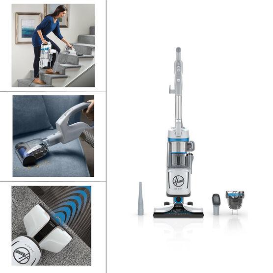 Hoover REACT QuickLift Vacuum - Grey/Blue - UH73301CA