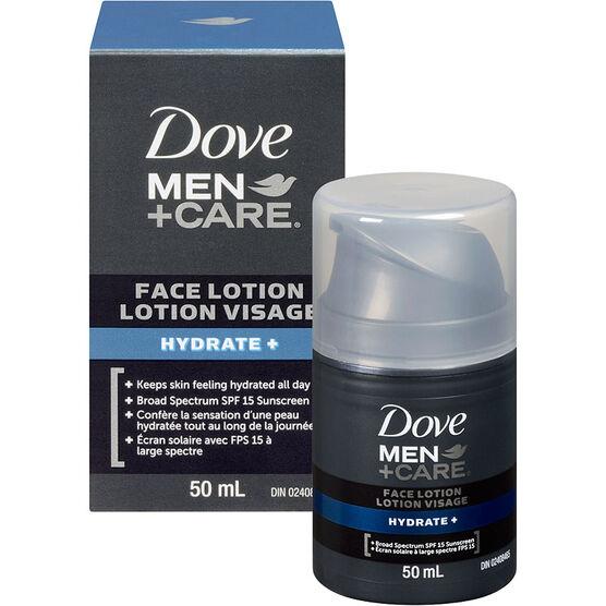 Dove Men+Care Hydrate+ Face Lotion - 50ml