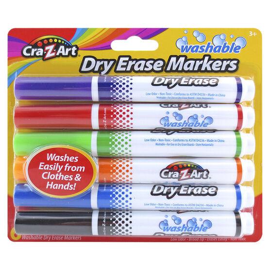 Cra-Z-Art Broadline Dry Erase Markers - 6's