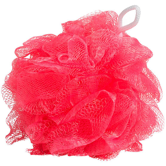Life Candy Bath Pouf - Pink