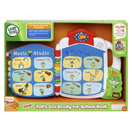 LeapFrog Tad's Get Ready for School Book - 80602301