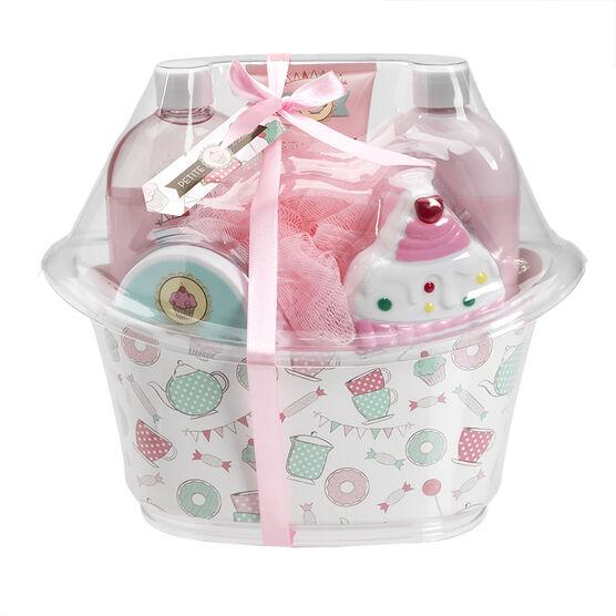 Petite Treats Bath Tub Gift Set - 6 piece