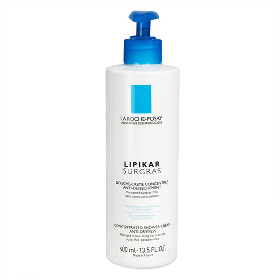 La Roche-Posay Lipikar Surgras Concentrated Anti-Dryness Shower-Cream - 400ml