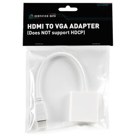 Certified Data HDMI to VGA Adapter - GUT-N26W