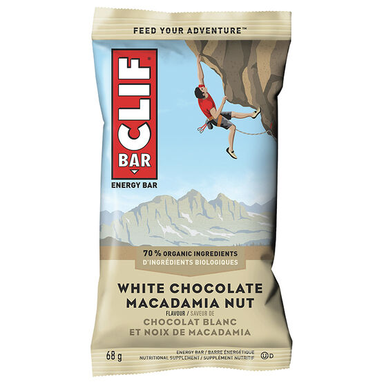 Clif Bar - White Chocolate Macadamia - 68g