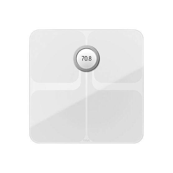 Fitbit Aria 2 Digital Wireless Bathroom Scale - White