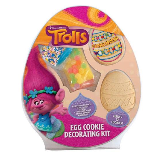 Trolls Egg Cookie Kit - 470g
