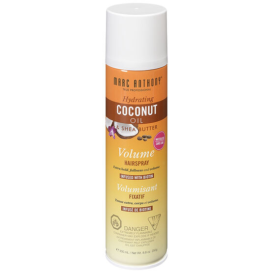 Marc Anthony Coconut Oil & Shea Butter Volume Hairspray - 300ml