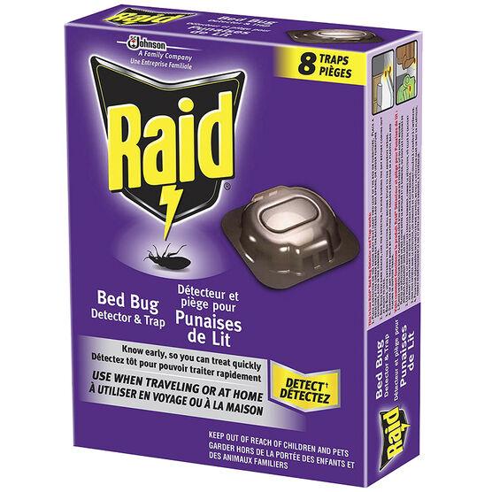 Raid Bed Bug Detector & Trap - 8's