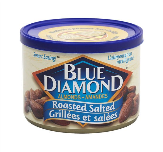 Blue Diamond Almonds - Roasted Salted - 170g