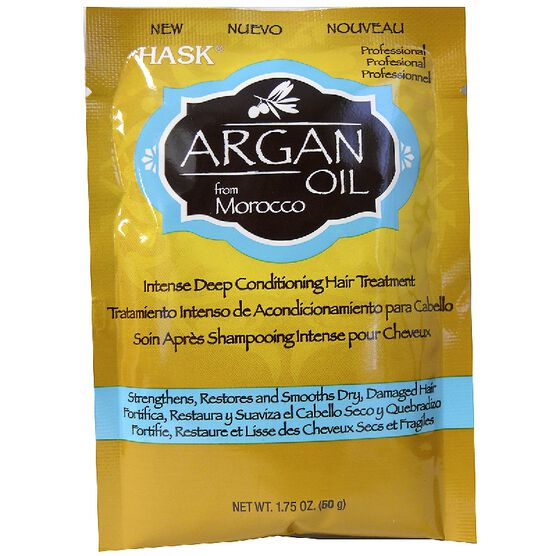Hask Argan Oil Intense Deep Conditioning Hair Treatment - 50g
