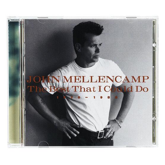 John Mellencamp - The Best That I Could Do - CD