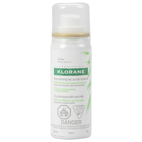 Klorane Gentle Dry Shampoo with Oat Extract - 50ml
