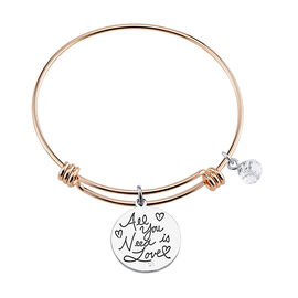 Unwritten Heart Bangle