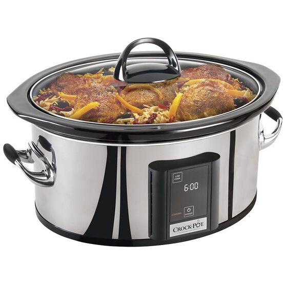 Crock-Pot Digital Slow Cooker - 6.5 Quart - Stainless Steel - SCVT650PS-CN