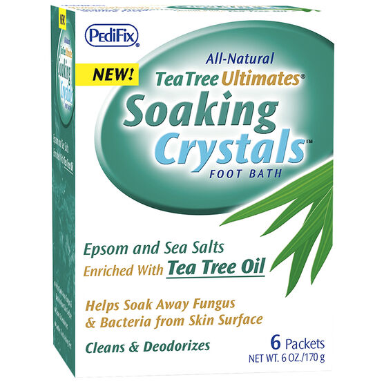 Pedifix Soaking Crystals Foot Bath - 6's